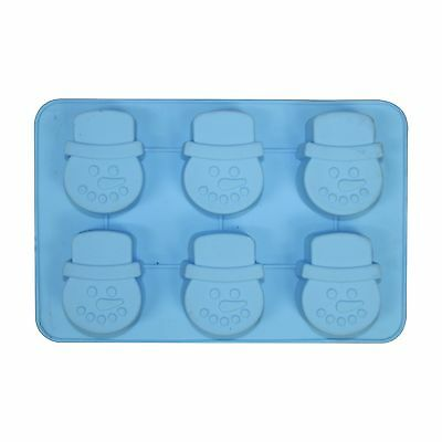 Large Christmas Silicone Chocolate Ice Tray Soap Candle Moulds - Choose Design