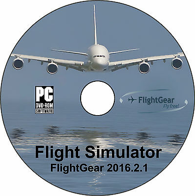 FlightGear, un simulateur de vol comparable à Flight Simulator Pro. ✅