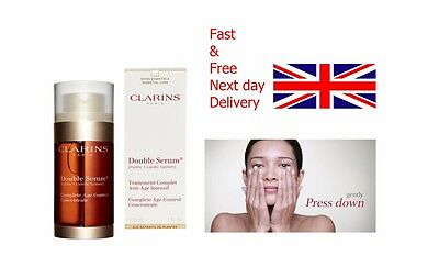 CLARINS Double Serum Traitement Complet Anti-Ageing Wrinkle Control Concentrate