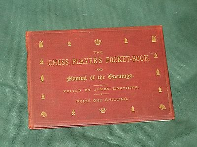 The Chess Player's Pocket Book 1888 1st ed?