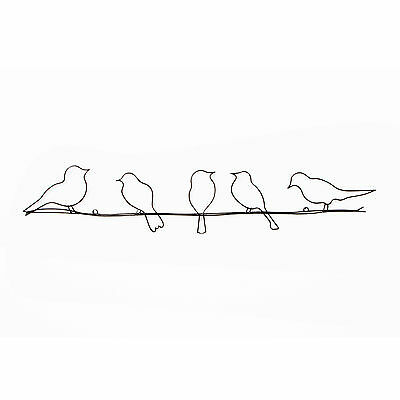 Graham & Brown Birds On A Wire Metal Wall Art 41-221