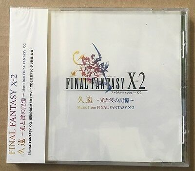 Final Fantasy X-2 Original Soundtrack Cd New Sealed Music From Alca 8165 Htf