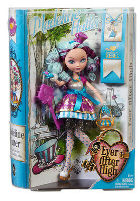 NEW Ever After High First Chapter Madeline Hatter Doll - Rebel
