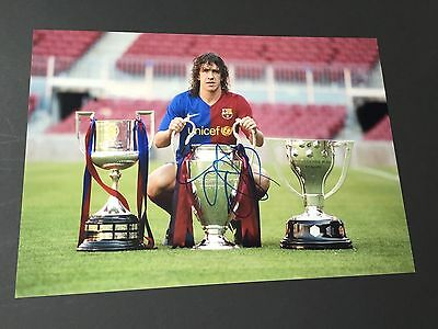 CARLES PUYOL   Weltmeister 2010  In-person  signed  Foto 20x30 Autogramm  RAR !