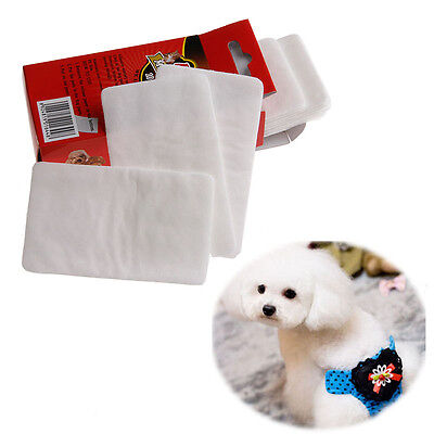 10Pcs Pet Disposable Diaper Dog Doggy Cat Diapers Nappy Pads Paper Mat New Sell