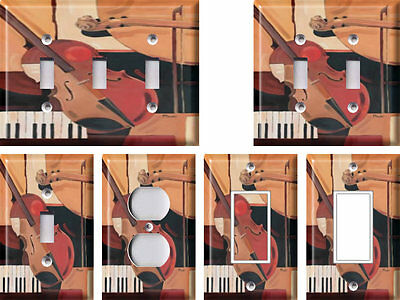 Abstract Violin - Light Switch Covers Home Decor Outlet