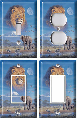 Africa - Kilimanjaro - Light Switch Covers Home Decor Outlet