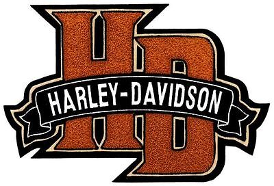 Harley Davidson Hd11009 Hd Monogram Chenille And Embroidery Retired!!