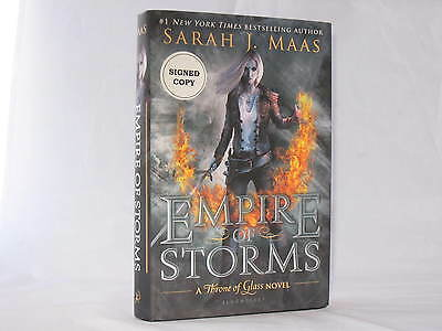 Throne of Glass #5: Empire of Storms by Sarah J. Maas (Signed First Edition) HC