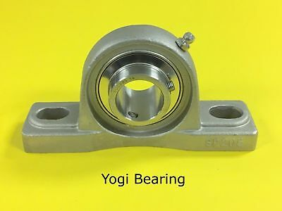 "SUCSP207-20 1-1/4"" Stainless Steel Pillow Block Bearing"