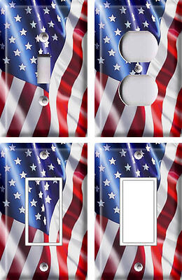 American Flag - Light Switch Covers Home Decor Outlet