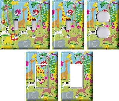 Animal Safari - Light Switch Covers Home Decor Outlet