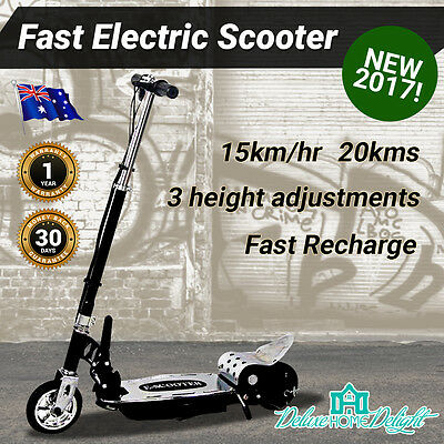 NEW Kids Electric Scooter Adjustable Height, Safe, Folding, Fast Charge, Manual