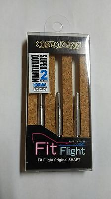 COSMO FIT SUPER DURALUMIN NORMAL SPINNING #2 SHAFTS 18mm  FOR FIT FLIGHTS ONLY