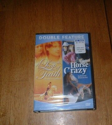 A Leap Of Faith/horse Crazy - 2002 Dvd New Sealed Rare ,ships Free