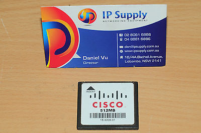 Original Cisco MEM2800-512CF 512MB Flash for 2801 2811 2821 2851 Series Router