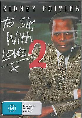 To Sir, With Love 2 - Sidney Poitier New Sealed All Region Dvd