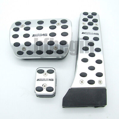 Stainless Steel Foot Pedals for Mercedes Benz W204 X204 W218 C CLS GLK Class AMG