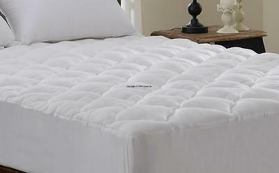 Extra Plush Bamboo Fitted Mattress Pad Topper Cherry Hill Collection Queen, King