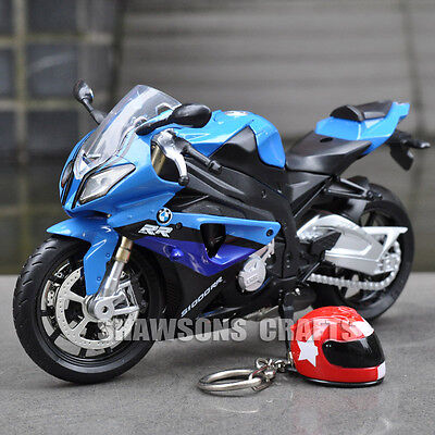 1:12 Diecast Model Toys Sound & Lights Motorcycle Bmw S1000Rr Sport Bike Replica