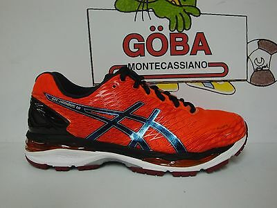 ASICS GEL NIMBUS 18 flame orange/black/silver