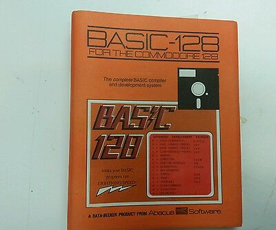 Basic 128 for commodore 128 abacus software