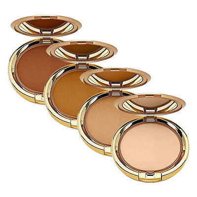 MILANI EVEN TOUCH 2 in 1 Powder Foundation - Face Powder Compact Makeup - VEGAN