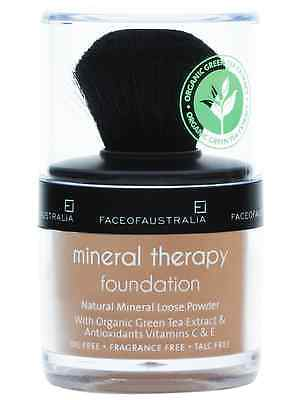 FACE OF AUSTRALIA (shade:TAN ) Mineral Therapy Foundation Oil Free-Loose Powder