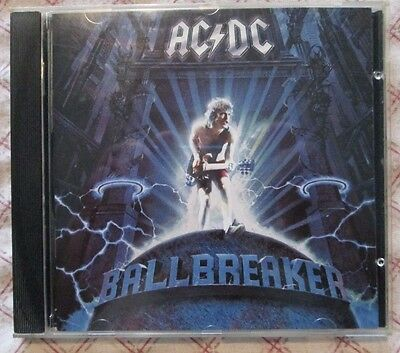 CD AC/DC - Ballbreaker (Eastwest Records America 1995)