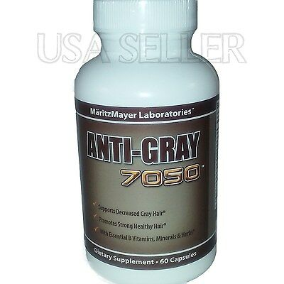 Anti Gray Hair 7050 Max Strength End Grey Hair Color Restore Supplement