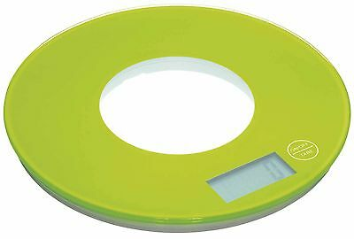 KitchenCraft Colourworks Green Electronic Kitchen Scales