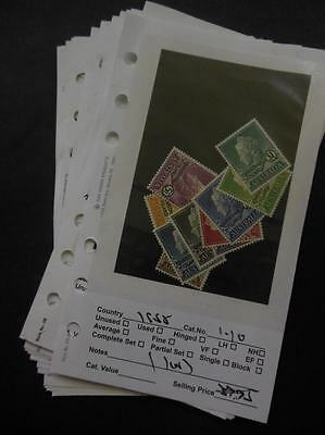 CHRISTMAS ISLAND : Collection of all Very Fine, Mint Never Hinged. Catalog $150+