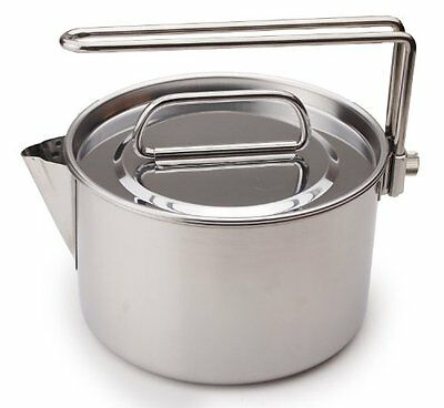 NEW CAPTAIN STAG Camping Stainless Steel Kettle / Cooker 1.3 Liter M-7296