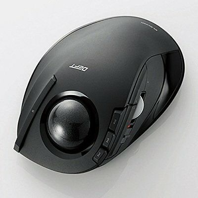 Brand new Elecom DEFT wireless Track ball mouse M-DT1DRBK