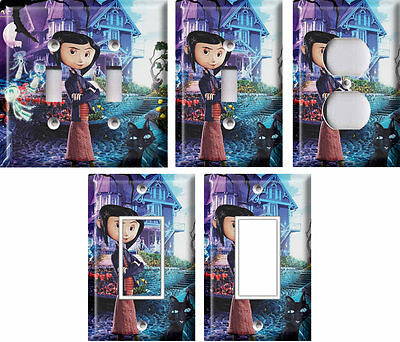 Coraline 1 - Light Switch Covers Home Decor Outlet