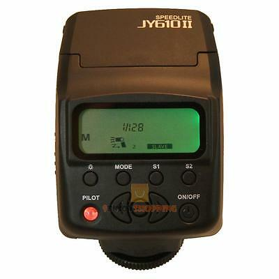 Viltrox JY-610 II On-camera Mini Speedlight Flash For Nikon Canon DSLR Camera
