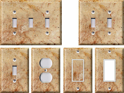 Crème Rosa - Light Switch Covers Home Decor Outlet