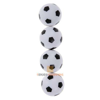 4Pcs 36mm Indoor Soccer Table Foosball Replacement Ball Football Fussball F JF#E