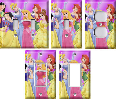 Disney Princesses 2 - Light Switch Covers Home Decor Outlet