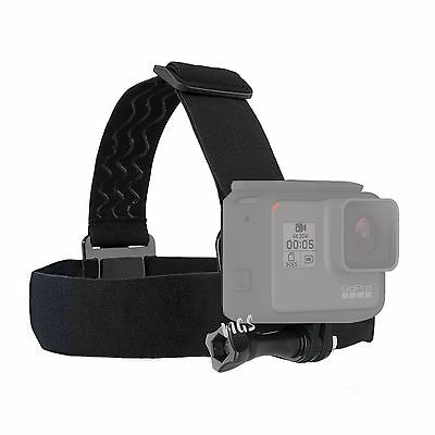 Elastic Adjustable Head Harness Strap Band Mount for Gopro HD Hero5 Hero 5 Black