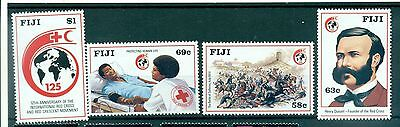 CROIX ROUGE - RED CROSS 125th ANNIVERSARY FJI 1989