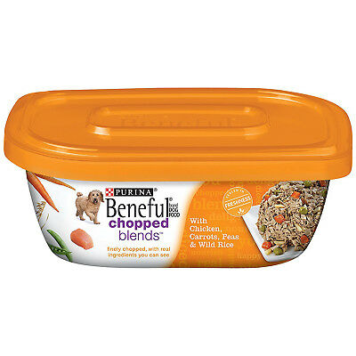 Purina Beneful Chopped Blends with Chicken, Carrots, Peas & Wild Rice