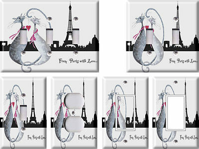 From Paris - Light Switch Covers Home Decor Outlet