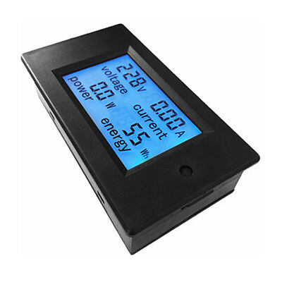 AC 80-260V 100A/20A Digital Power Meter Monitor Voltage Module Voltmeter Ammeter