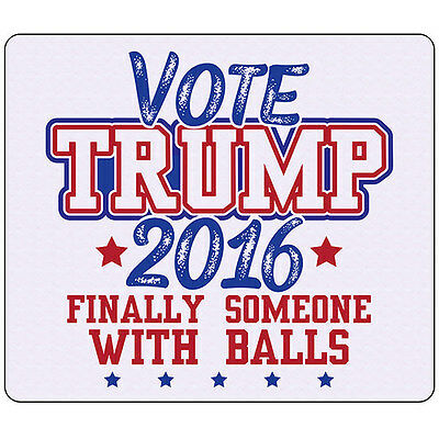 "Vote Trump 2016 American President Election - 9.25"" X 7.75"" Mouse Pad"