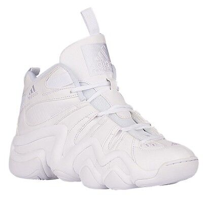 98019daa2d52 B72992) ADIDAS CRAZY 8 Kobe Triple White Basketball Shoes -  114.95 ...