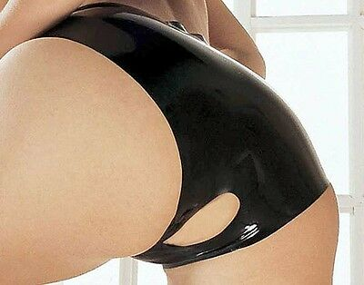 Latex Bottomless Panties - Open Knickers