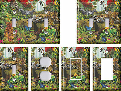 Jungle Animals - Light Switch Covers Home Decor Outlet