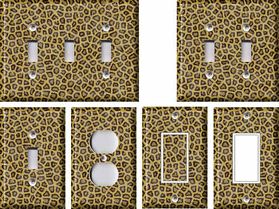 Leopard Pattern - Light Switch Covers Home Decor Outlet