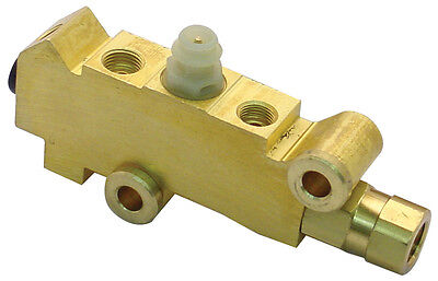 Gm Disc Disc Brakes Brass Proportioning Valve Street Rod Classic Car & Truck